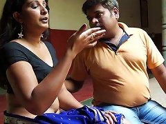 Horny Indian Guy Is Teasing His Girl Tracing Her Body With Fingers