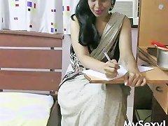 Horny Lily Seductive Marathi Indian Bhabhi Role Play