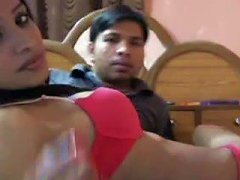 Amateur Indian Couple Is Playing Kinky On Webcam