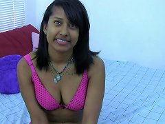 Horny Indian Brunette With Glasses Lets You Watch Her