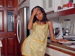 Nri Indian Girl Pleasing Herself