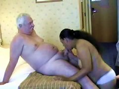 Horny Indian Honey Loves Rolling With Old Guys