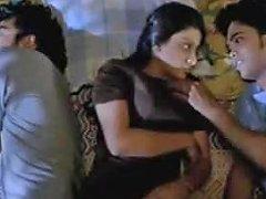 3 On A Bed 2012 Erotic Threesome Txxx Com