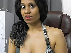 Desi Hairy Secretary Pleases Her Boss Role Play