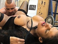India Babe Gets Fucked On The Floor