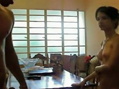 Indian Honey Gets Banged On The Table Porn Videos