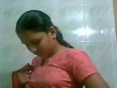 Village Aunty Recording Herself For Husband