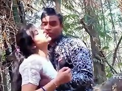 Indian Girl Making Out In Public