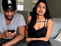 Blindian Couple Jerome Jamaican Man Amp Nithisha Sri Lankan Tamil Girl