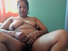 Mature Indian Wife Stripping