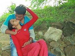 Indian Village Girl Enjoying With Her Muslim Friend