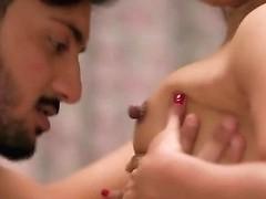 Indian Erotic Scene Hindi Short Film Darkhaired Babe