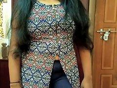 Hot Indian Bigboobs Press Closeup Blowjob Moaning Loudly Fuck Cumshot
